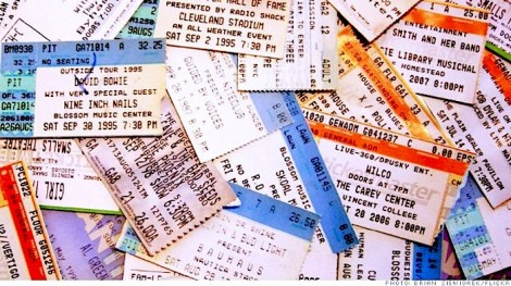 LIVE TICKET MARKET GROWTH WORTH $24 BILLION BY 2021