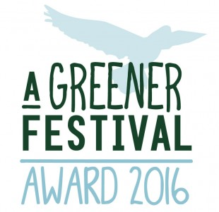 A Greener Festival Award Winners For 2016