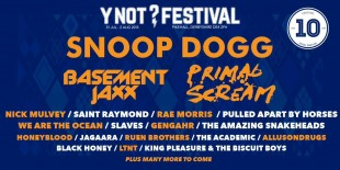 Y Not Festival are having a party and Snoop Dogg is invited