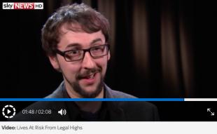 AIF talk legal highs on Sky News