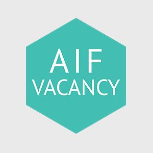 AIF vacancy: Membership Assistant