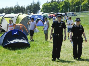 "Policing reform u-turn described as ""a victory for common sense"" by festival organisers."