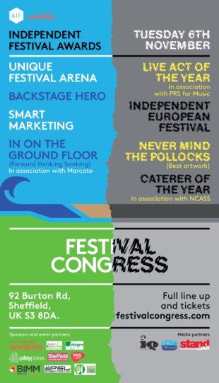 Independent Festival Awards 2019 shortlist revealed