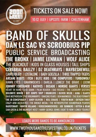 Band Of Skulls and The Bronx announced for 2000 Trees Festival