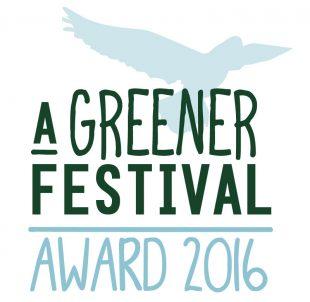 A Greener Festival Award Winners For 2016