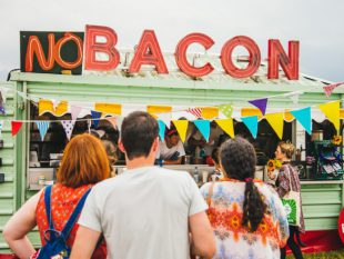BEHIND THE SCENES OF GOING MEAT & FISH FREE AT SHAMBALA