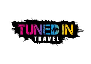 Tuned In Travel Logo Transparent Background