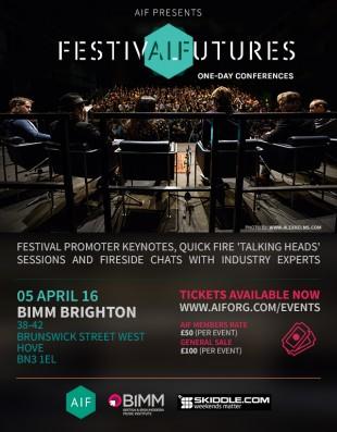 AIF Presents Festival Futures Brighton