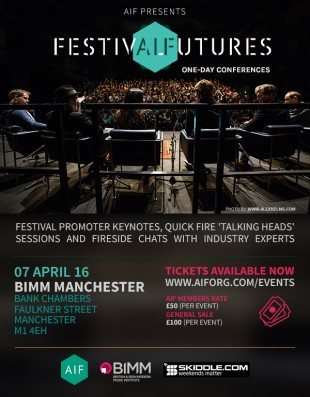 AIF Presents Festival Futures Manchester