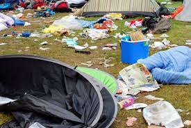 Tent-dumping at Music Festivals becoming more of a problem